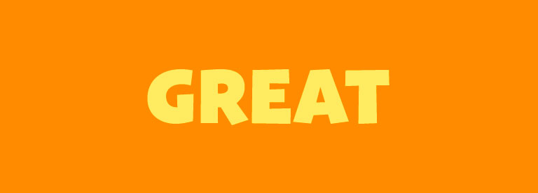 Word of the Day: Great