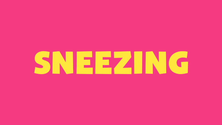 Manners: Sneezing