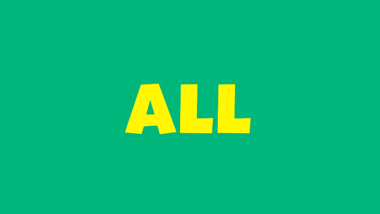 Sight Word: All