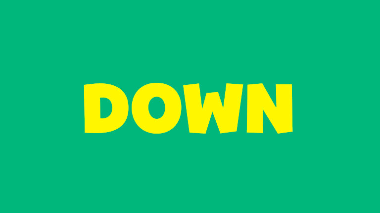 Sight Word: Down