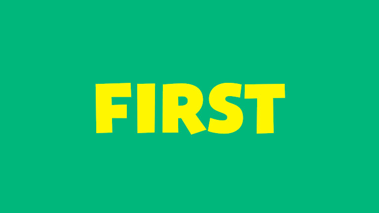 Sight Word: First