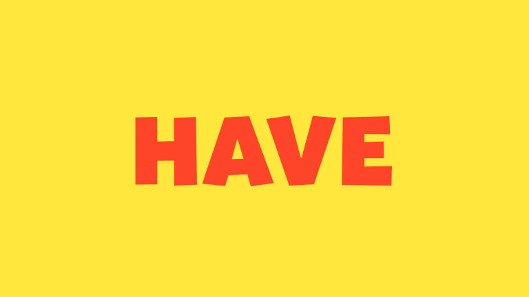 Sight Word: Have