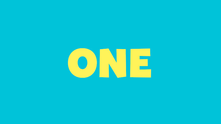 Sight Word: One