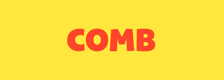 Word of the Day: Comb