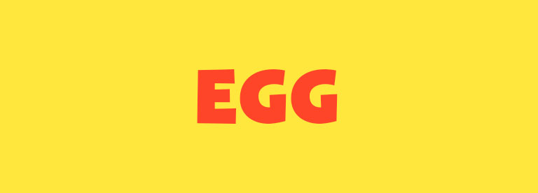 Word of the Day: Egg
