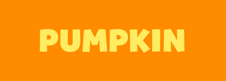 Word of the Day: Pumpkin