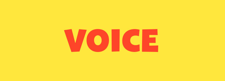 Word of the Day: Voice