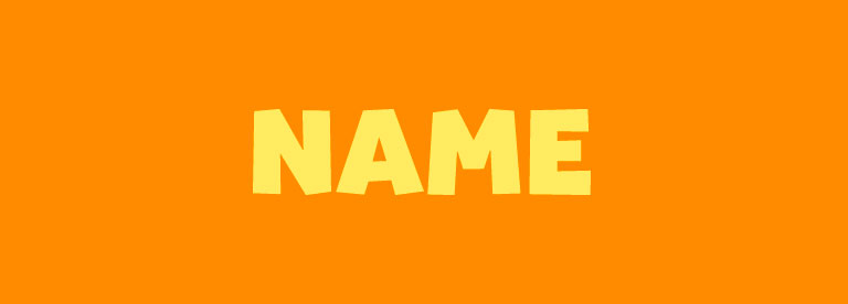 Word of the Day: Name