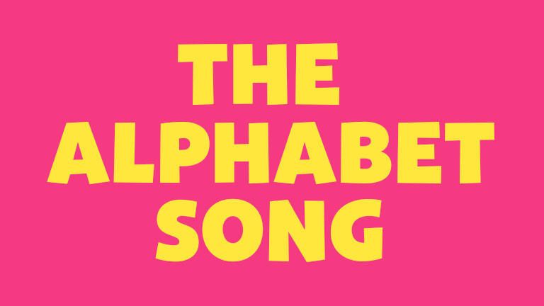 Learning and Singing: The Alphabet Song