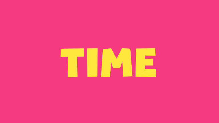 Sight Word: Time