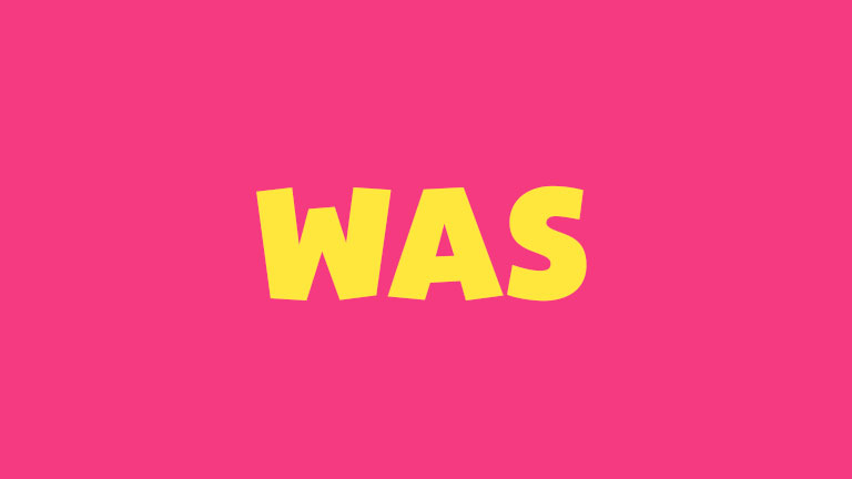 Sight Word: Was