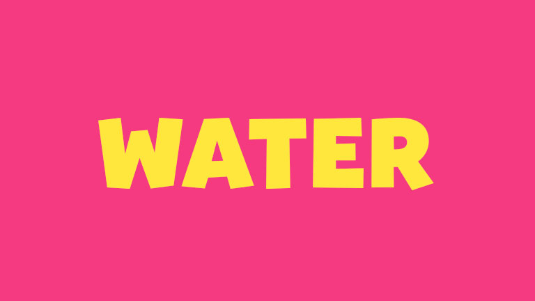 Sight Word: Water