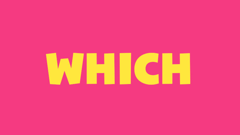 Sight Word: Which