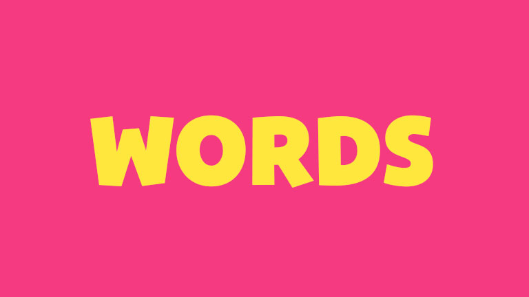 Sight Word: Words