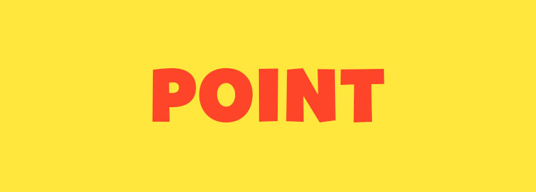 Word of the Day: Point
